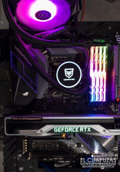 Nfortec Hydrus RGB 120 - Equipo de pruebas 1