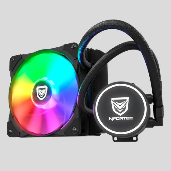 Nfortec Hydrus RGB 120 - Oficial