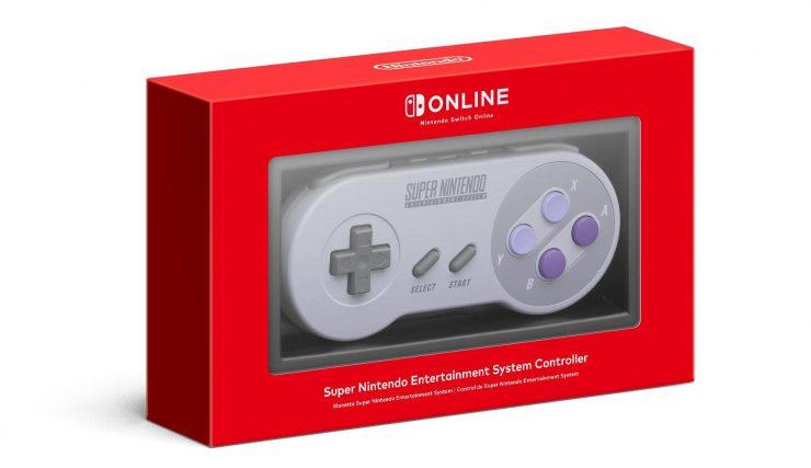 Nintendo Switch SNES mando