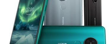 Nokia 7.2 y Nokia 6.2: Dos terminales de gama media que se unen a la moda de triple cámara trasera