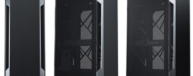 Phanteks Enthoo Evolv Shift Air: Chasis Mini-ITX con unas curiosas ventanas 'metal mesh'