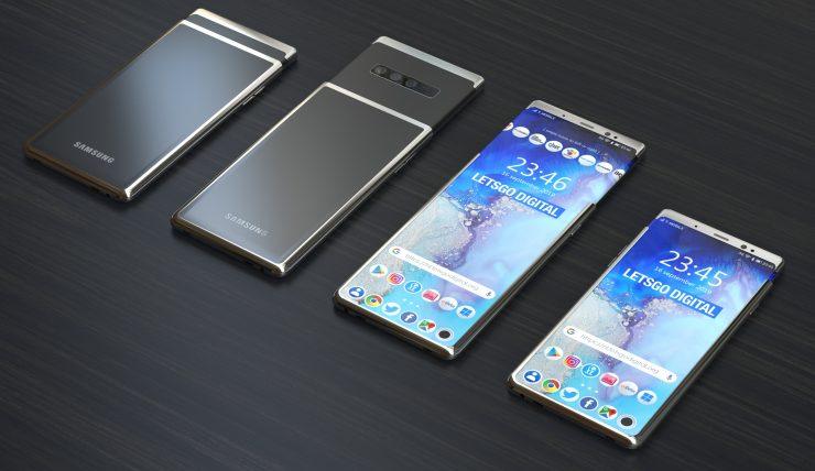 Samsung Galaxy S11 Plus Diseño basado en patente 1 740x428 0