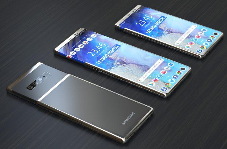 Samsung Galaxy S11 Plus Diseño basado en patente 2 740x488 1
