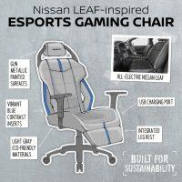 Nissan planea lanzar sus propias sillas gaming inspiradas en los asientos de sus vehículos