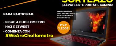 Chollometro sortea un portátil gaming Lenovo Legion Y520 (Core i7 + GTX 1050)