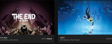 Descarga gratis The End is Nigh y ABZÛ desde la Epic Games Store