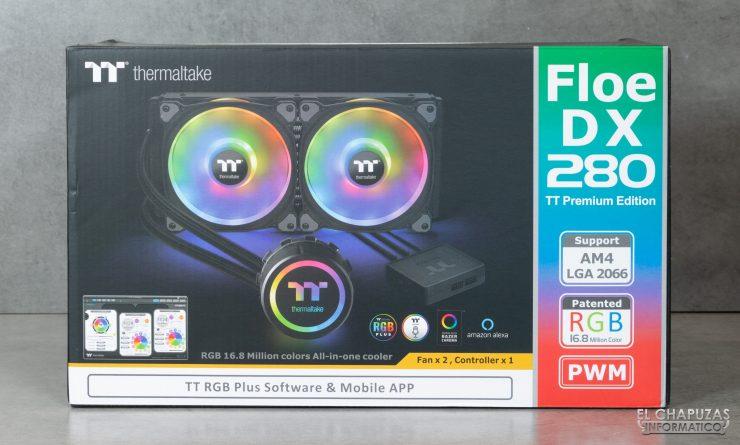 Thermaltake Floe DX ARGB 280 TT Premium Edition - Embalaje 1