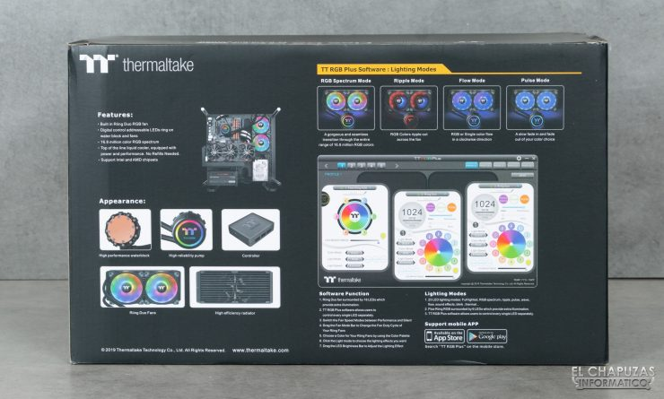 Thermaltake Floe DX ARGB 280 TT Premium Edition - Embalaje 4