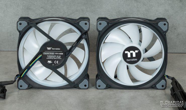 Thermaltake Floe DX ARGB 280 TT Premium Edition - Ventiladores
