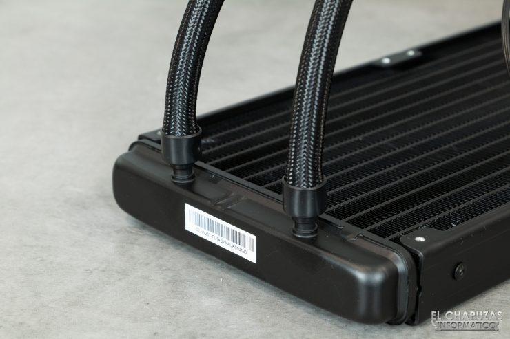 Thermaltake Floe DX ARGB 280 TT Premium Edition - Radiador - salida tubos