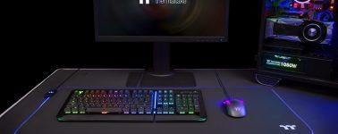 Thermaltake lanza dos alfombrillas para ratón con iluminación LED RGB
