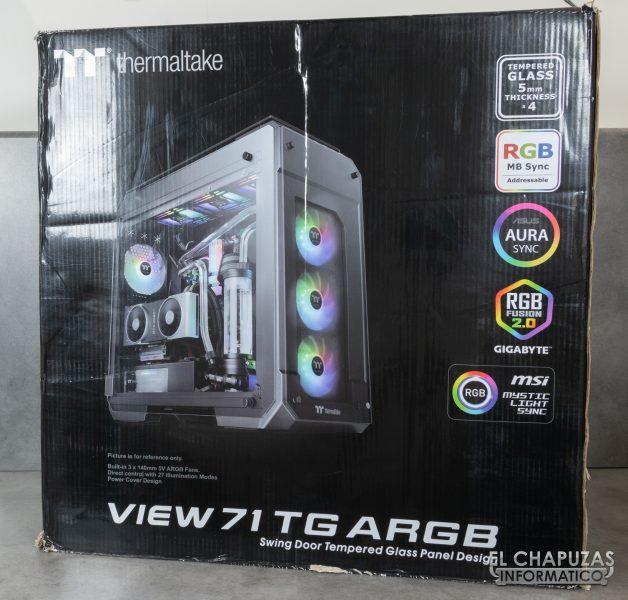 Thermaltake View 71 TG ARGB - Embalaje exterior
