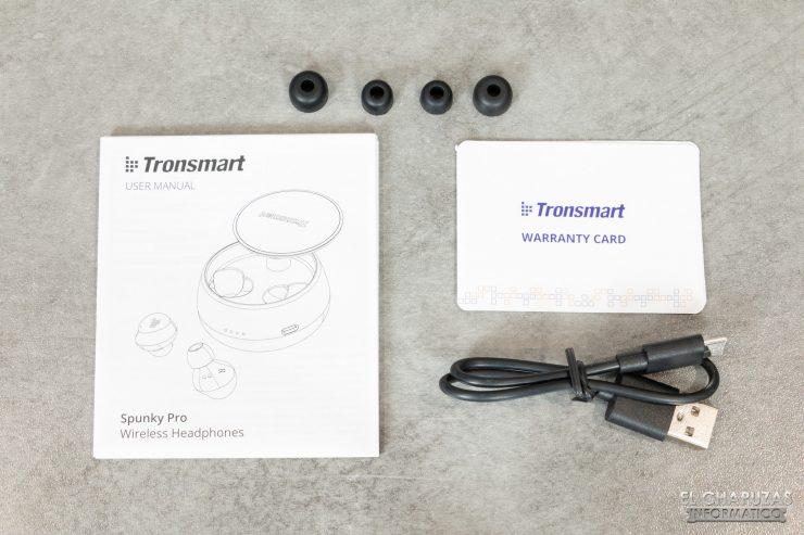 Tronsmart Spunky Pro - Accesorios