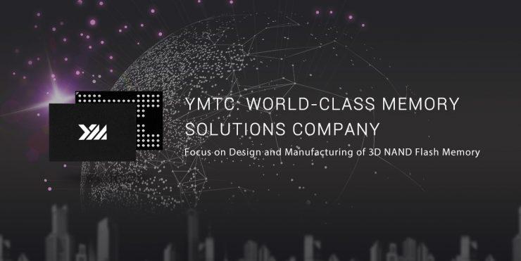 Yangtze Memory Technologies Co. YMTC 3D NAND Flash 740x371 0