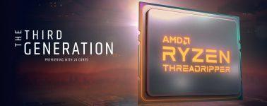 Los AMD Ryzen Threadripper 3960X, 3970X y 3990X se anunciarán el 5 de Noviembre