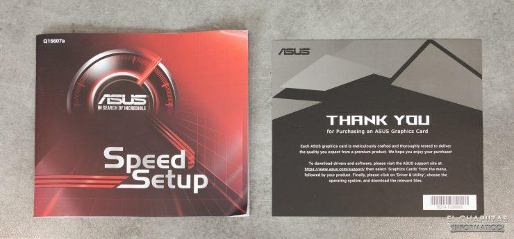 Asus GeForce GTX 1660 SUPER DUAL OC - Accesorios