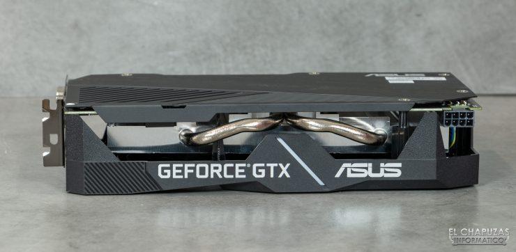 Asus GeForce GTX 1660 SUPER DUAL OC - Vista lateral