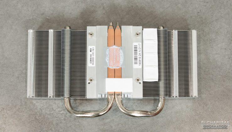 Asus GeForce GTX 1660 SUPER DUAL OC - Disipador desmontado