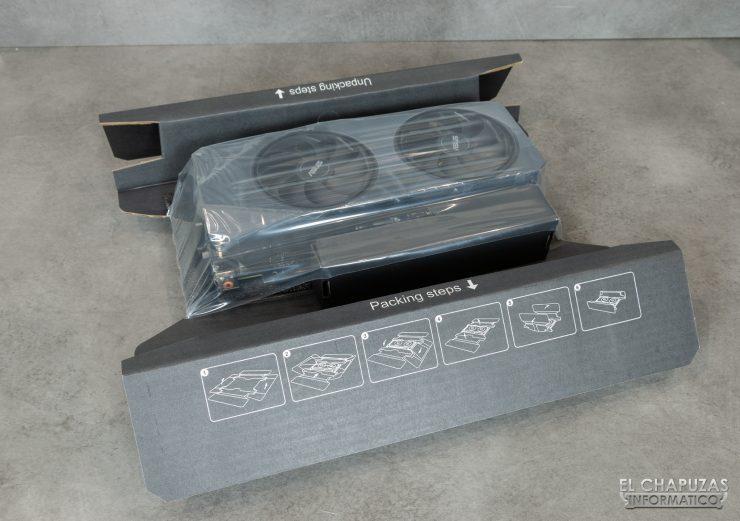Asus GeForce RTX 2060 SUPER DUAL OC - Embalaje interior 2