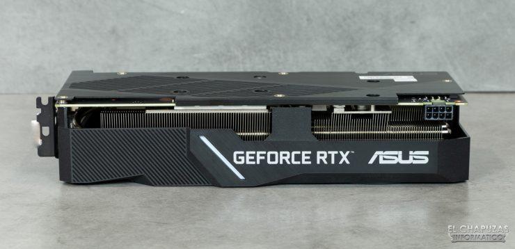 Asus GeForce RTX 2060 SUPER DUAL OC - Vista lateral