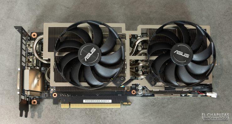 Asus GeForce RTX 2060 SUPER DUAL OC - Carenado del disipador desmontado 2