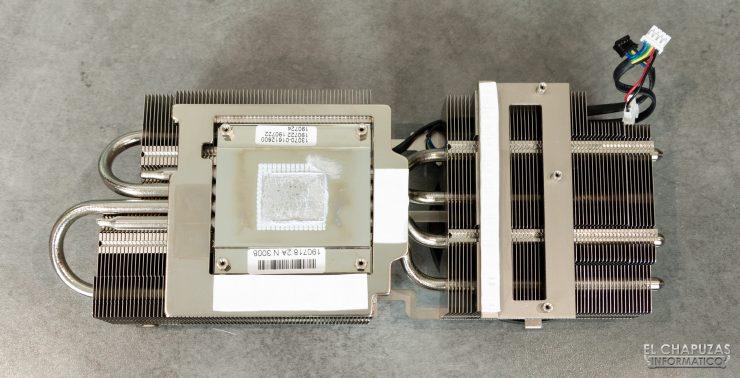 Asus GeForce RTX 2060 SUPER DUAL OC - Disipador desmontado