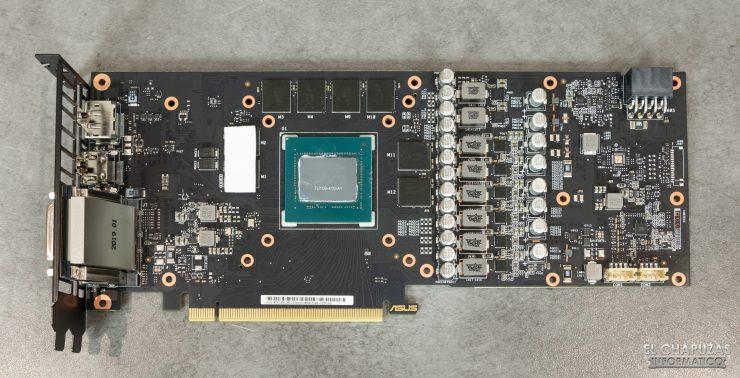 Asus GeForce RTX 2060 SUPER DUAL OC - PCB frontal
