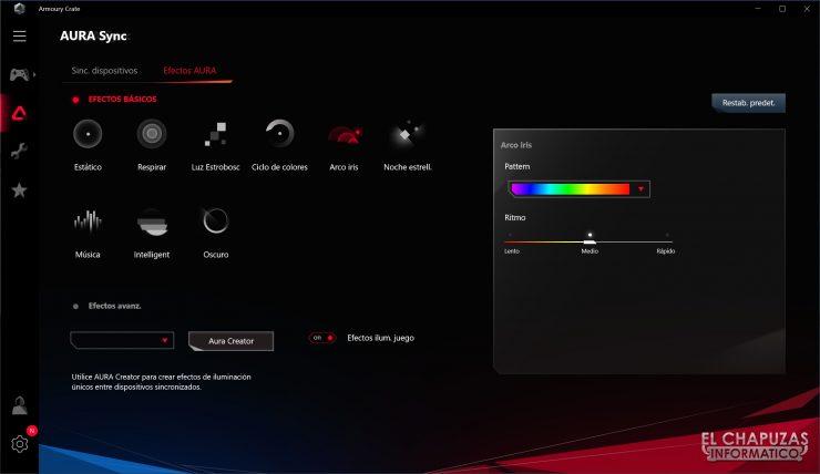 Asus ROG Strix X570-I Gaming - Aura Sync