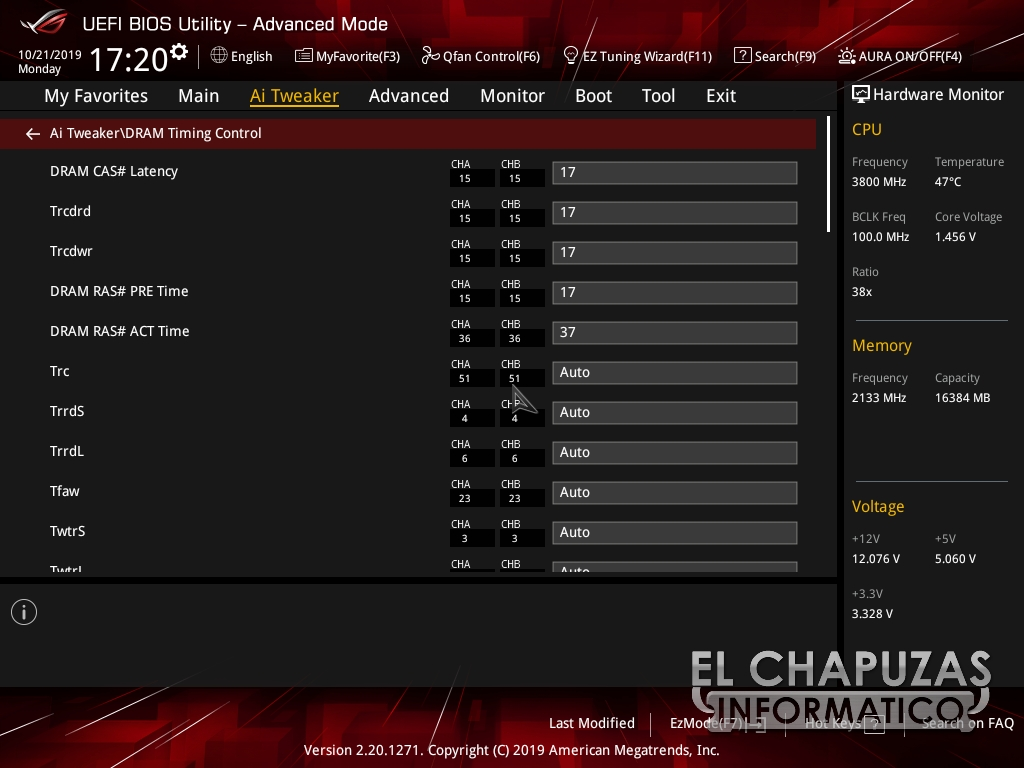Asus ROG Strix X570 I Gaming BIOS 5 38