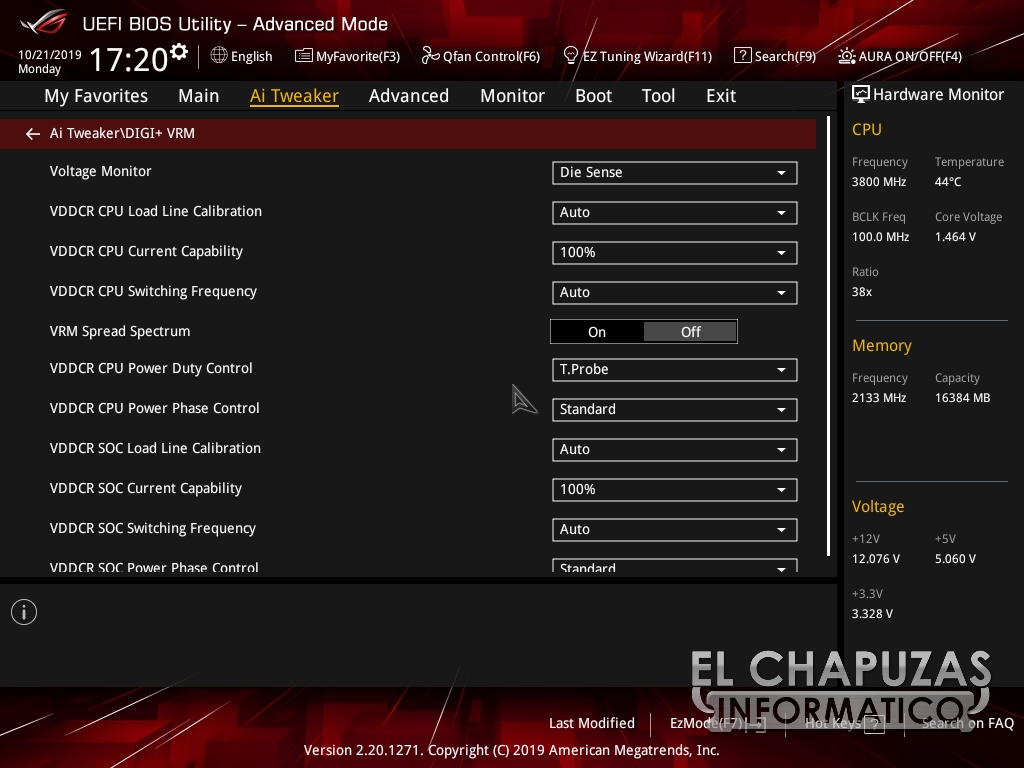 Asus ROG Strix X570 I Gaming BIOS 6 39