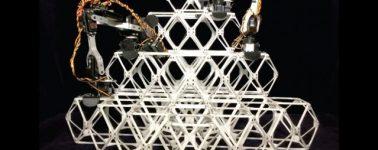 El MIT presenta a 'BILL-E', un pequeño robot que puede construir estructuras por bloques