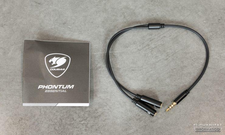 Cougar Phontum Essential - Accesorios