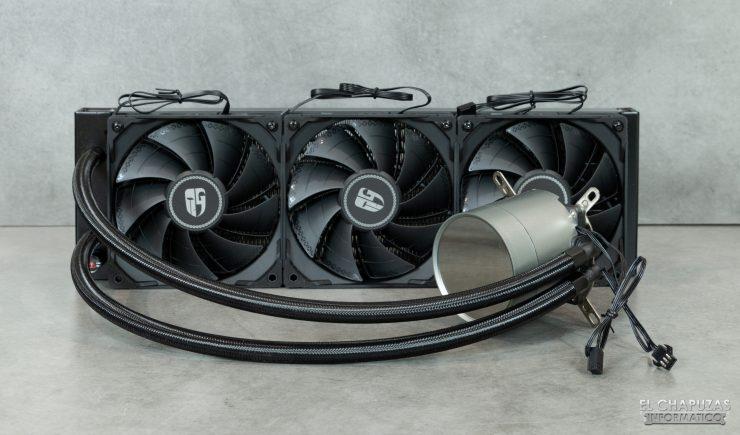 DeepCool GamerStorm Castle 360EX - Con ventiladores