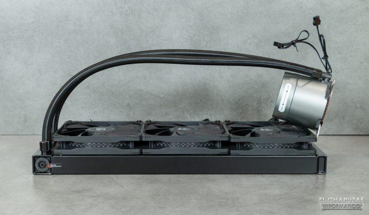 DeepCool GamerStorm Castle 360EX - Con ventiladores instalados