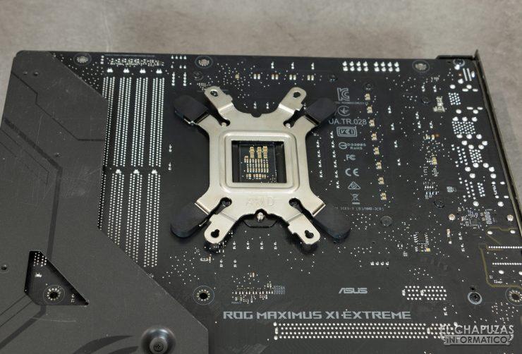 DeepCool GamerStorm Castle 360EX - Backplate colocado