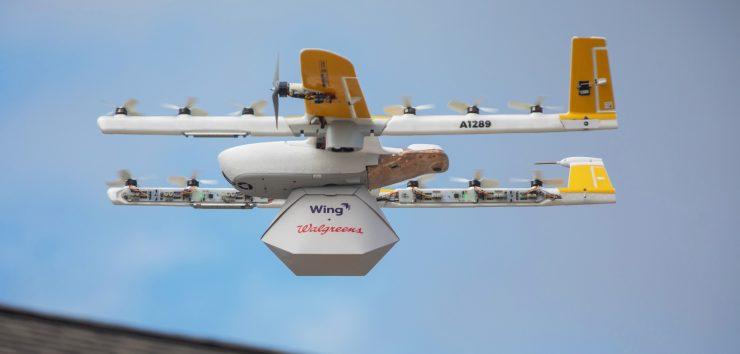 Drone de reparto
