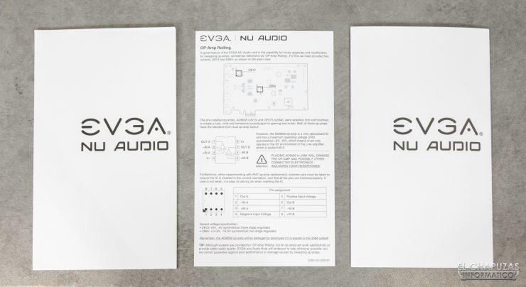 EVGA NU Audio - Documentación