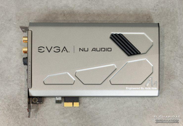 EVGA NU Audio - Vista superior