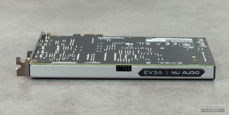 EVGA NU Audio - Vista lateral