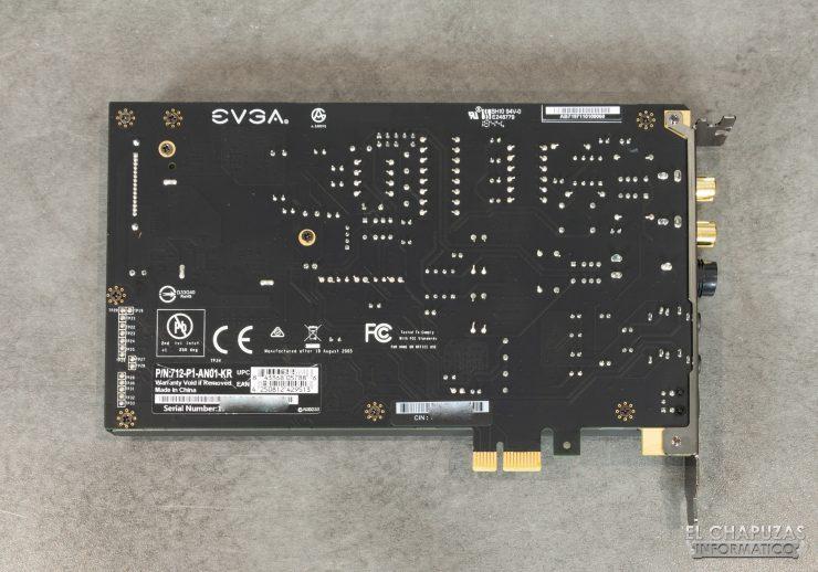 EVGA NU Audio - PCB posterior