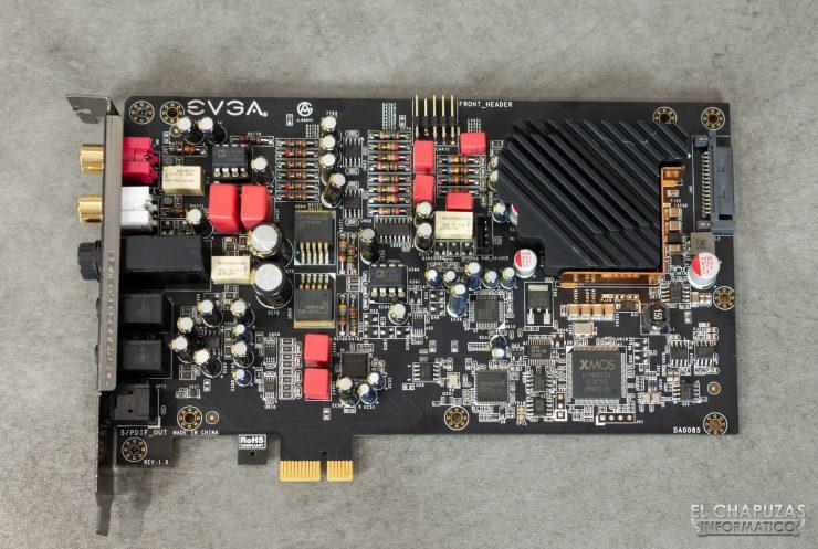 EVGA NU Audio - PCB frontal