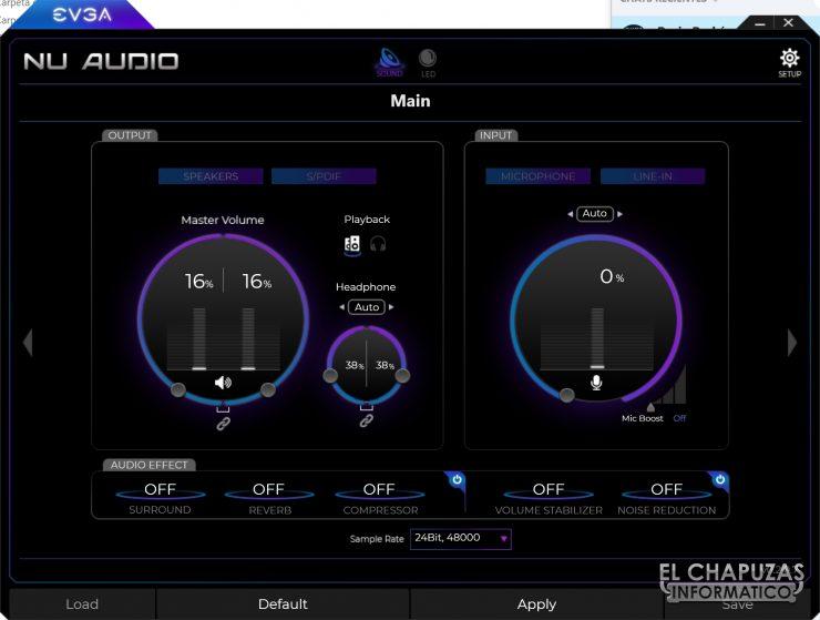 EVGA NU Audio - Software 1