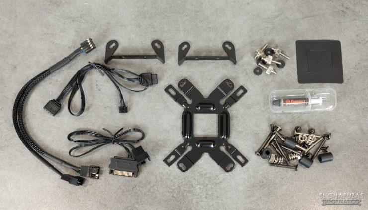 Enermax Liqmax III RGB 240 - Kit montaje