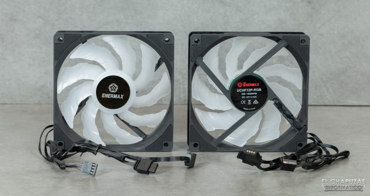 Enermax Liqmax III RGB 240 - Ventiladores