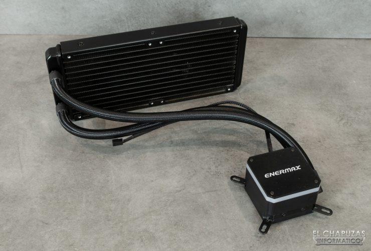 Enermax Liqmax III RGB 240 - Sin ventiladores