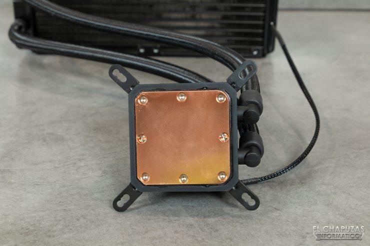Enermax Liqmax III RGB 240 - Base de cobre