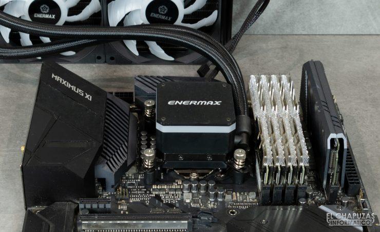 Enermax Liqmax III RGB 240 - Instalación
