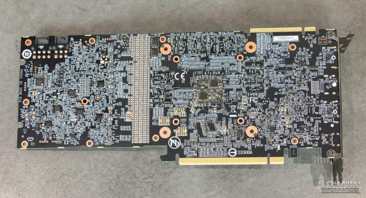 Gigabyte GeForce RTX 2080 SUPER Gaming OC 8G - PCB trasero