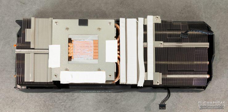 Gigabyte GeForce RTX 2080 SUPER Gaming OC 8G - Disipador desmontado