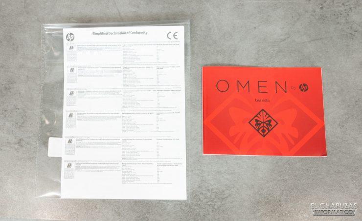 HP Omen 15-dh0001ns - Documentación